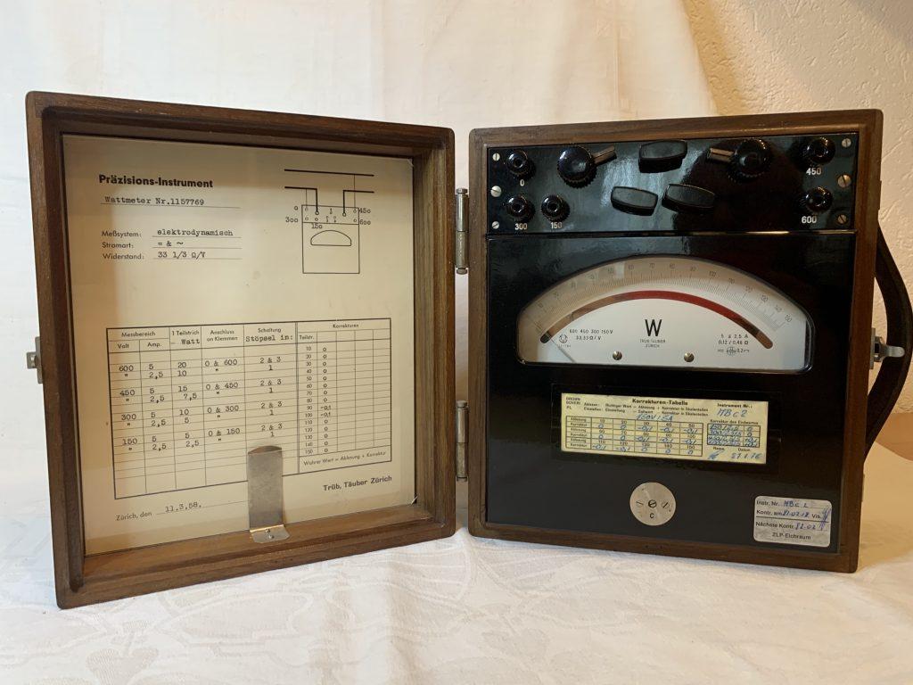 Trüb Teuber Wattmeter