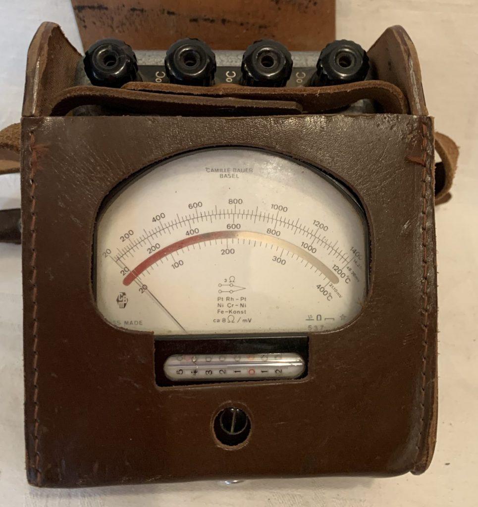 Camille Bauer Temperatur Messgerät